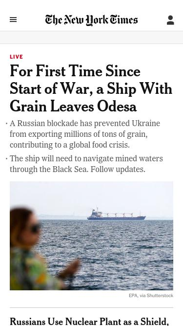 © The New York Times Company. Help; Feedback.