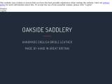 oaksidesaddlery.co.uk