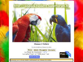 oiseaux2voliere.superforum.fr