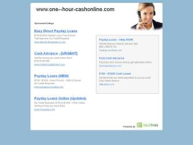 one--hour-cashonline.com
