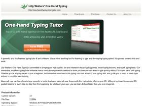 one-hand-typing.typingstar.com