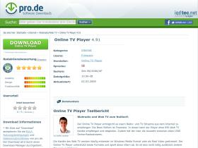 online-tv-player.pro.de