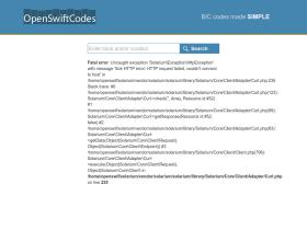openswiftcodes.com