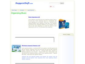 organizing-music.suggestsoft.com