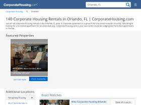 orlando.corporatehousing.com