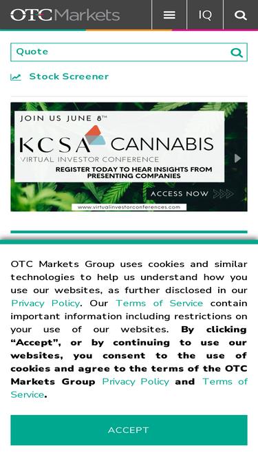 Otcmarkets com Analytics - Market Share Stats & Traffic Ranking