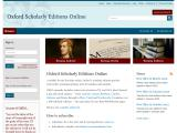 oxfordscholarlyeditions.com