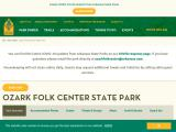 ozarkfolkcenter.com