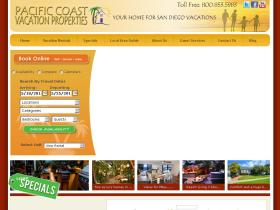 pacificcoastvacationproperties.com