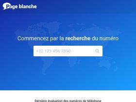 page-blanche.be