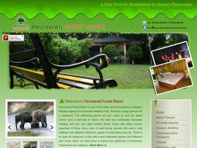 panchavatiforestresort.com
