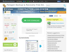 paragon-backup-recovery-free-edition.software.informer.com