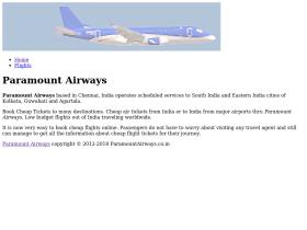 paramountairways.co.in