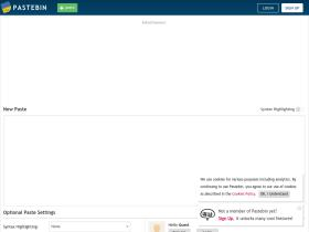 Pastebin com Analytics - Market Share Stats & Traffic Ranking