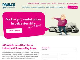 paullsvehiclerental.co.uk