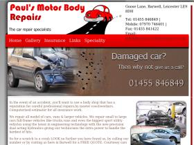 paulsmotorbodyrepairs.co.uk