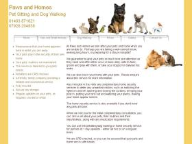 pawsandhomes.co.uk
