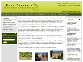 peakdistrict-bedandbreakfast.co.uk
