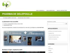 pharmaciedelepoulle.com