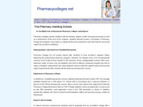 pharmacycolleges.net