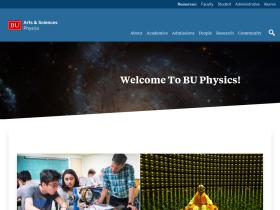 physics.bu.edu