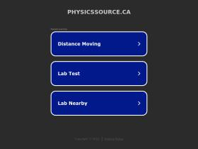 physicssource.ca