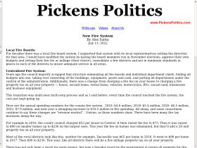 pickenspolitics.com
