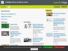 pierreetmariecurie.cybercolleges42.fr