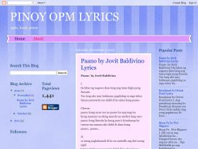 pinoy-lyrics-opm.blogspot.com