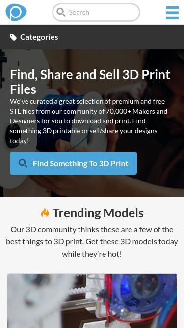 Pinshape com Analytics - Market Share Stats & Traffic Ranking