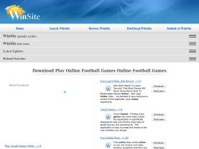 play-online-football-games-online-football-games.winsite.com