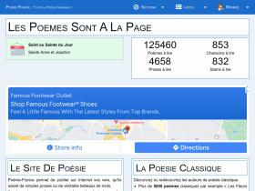 poeme-france.com Analytics Stats