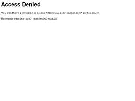 Policybazaar com Analytics - Market Share Stats & Traffic