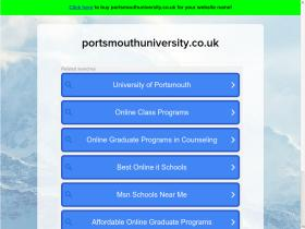 portsmouthuniversity.co.uk
