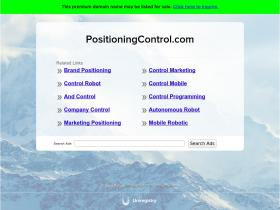 positioningcontrol.com
