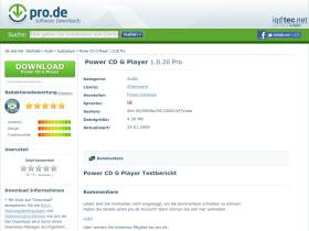 power-cd-g-player.pro.de