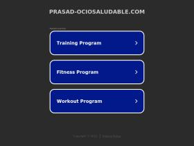 prasad-ociosaludable.com