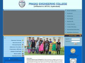 prasadengineeringcollege.ac.in