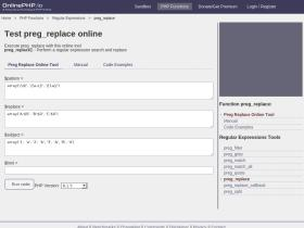 preg_replace.onlinephpfunctions.com