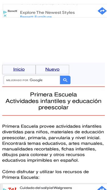 Primeraescuela.com Analytics - Market Share Stats & Traffic Ranking