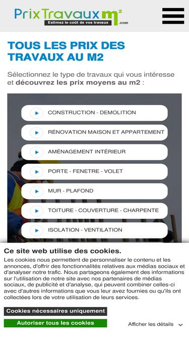 Prix Travaux M2 Com Analytics Market Share Data Ranking Similarweb