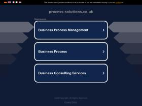 process-solutions.co.uk