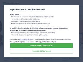 jobinfo önéletrajz minta Profession.hu Analytics   Market Share Stats & Traffic Ranking jobinfo önéletrajz minta