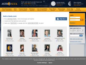 Profile Astro Seek Com Analytics Market Share Stats Traffic Ranking