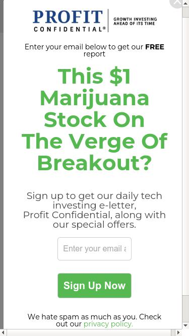 Profitconfidential com Analytics - Market Share Stats