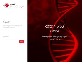 projectoffice.cscs.ch
