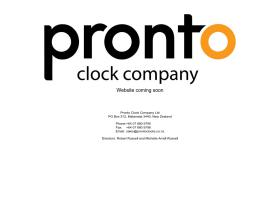 prontoclocks.co.nz