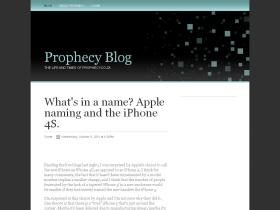 prophecyblog.co.za