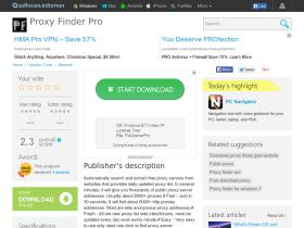 proxy-finder-pro.software.informer.com