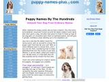 puppy-names-plus.com